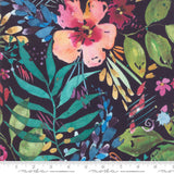 Flower Party in Navy, Quilting Cotton, Moda Fabrics - Weave & Woven