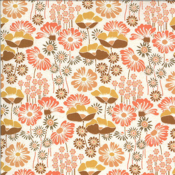 Wildflowers in Mulled Cider, Quilting Cotton, Moda Fabrics - Weave & Woven