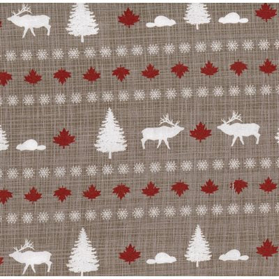 True North Hike in Taupe, Quilting Cotton, Moda Fabrics - Weave & Woven