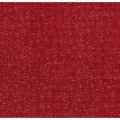 Snow Sprinkles in Red - Weave & Woven