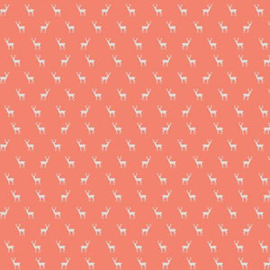 Coral Deer, Quilting Cotton, Riley Blake Fabrics - Weave & Woven