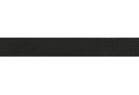 Cotton Webbing Black 1