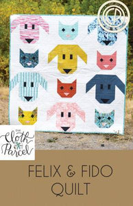 Felix and Fido Quilting Pattern