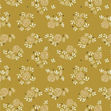 Seeds on Gold, Quilting Cotton, Dashwood Studio - Weave & Woven