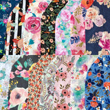 Floral Scrap Pack ~ 20 Pieces