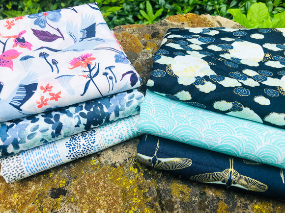 July Small Bundle Fat Quarter Monthly Subscription Bundle | Weave and Woven