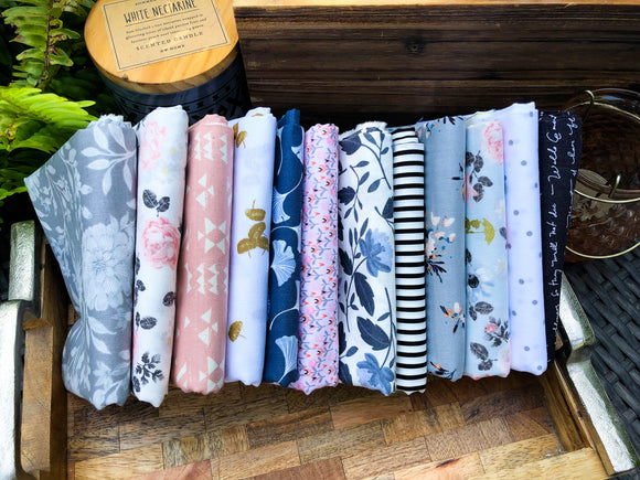 August Large Fat Quarter Bundle