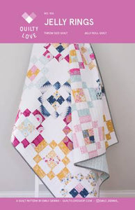 Jelly Rings Quilt Pattern, Pattern, Quilty Love - Weave & Woven