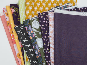 12 FQ Monthly Subscription ~ 3 Months ONLY, The Fabric Club, Weave & Woven - Weave & Woven
