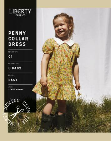 Penny Collar Dress Pattern | Child - Weave & Woven