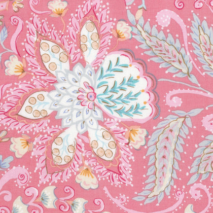Ornate in Pink, Isabelle Collection for Free Spirit Fabrics, Weave and woven