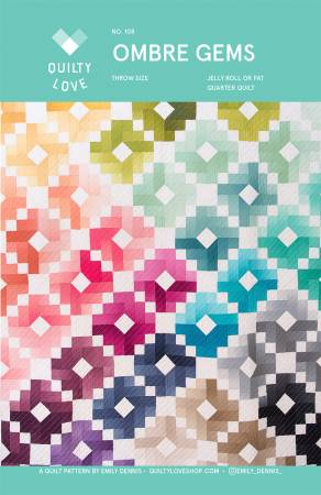 Ombre Gems Quilting Pattern