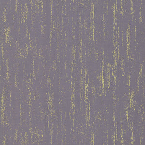 Brushed in Slate Grey | Metallic Gold, Quilting Cotton, Ruby Star Society - Weave & Woven