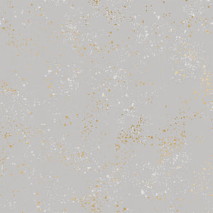 Speckled in Dove | Metallic - Weave & Woven