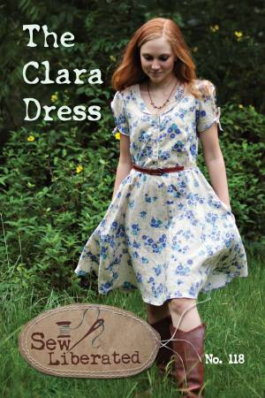 The Clara Dress, Pattern, Sew Liberated - Weave & Woven
