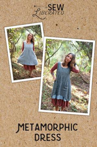 Metamorphic Dress Pattern, Sew Liberated Sewing Pattern