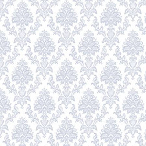 Damask on White - Weave & Woven
