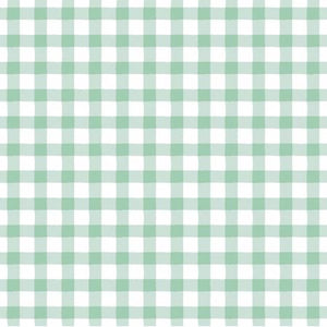 Plaid in Opal, Quilting Cotton, Dear Stella - Weave & Woven