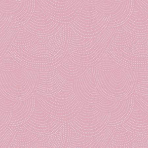 Scallop Dots in Lilac, Quilting Cotton, Dear Stella - Weave & Woven