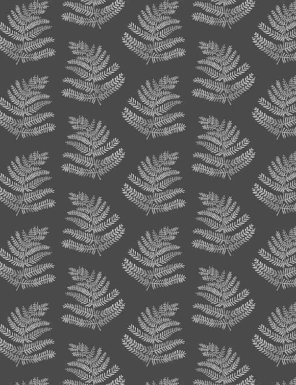 Ferns in Peat, Quilting Cotton, Dear Stella - Weave & Woven