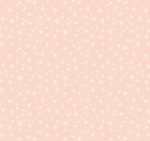 Scattered Stars in Blush - Weave & Woven