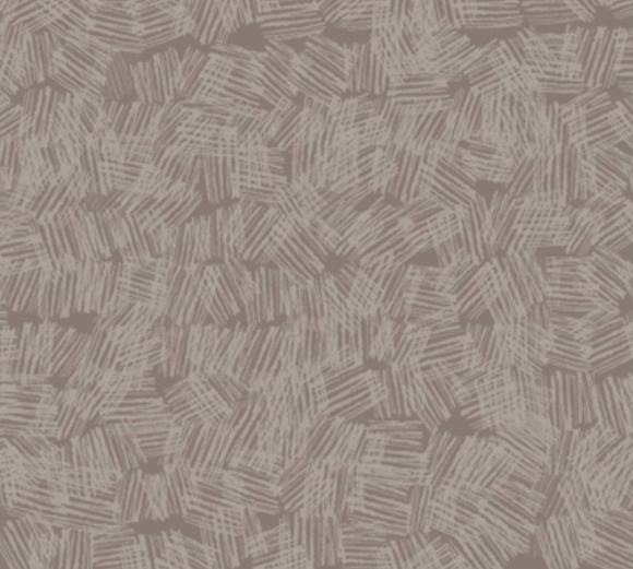 Crosshatch on Taupe - Weave & Woven