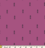Simple Defoliage in Violet, Quilting Cotton, Art Gallery Fabrics - Weave & Woven