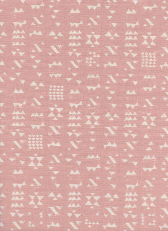 Patch in Rose, Moonrise Collection for Cotton & Steel Fabrics, Weave and Woven