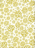 Golden Florals ~ Metallic