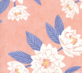 Twilight Florals in Coral, Twilight Collection by One Canoe Two for Moda Fabrics, Weave and Woven
