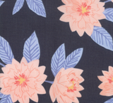 Twilight Roses on Midnight, Twilight Collection for Moda Fabrics, Weave and Woven