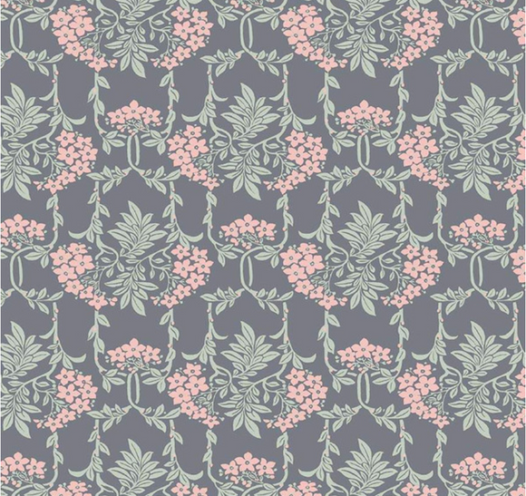 Mayflower in Grey and Pink