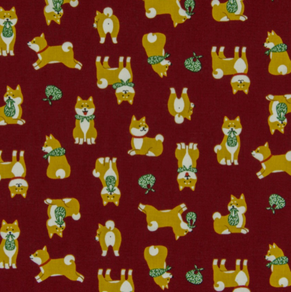 Shiba Inu in Red - Weave & Woven
