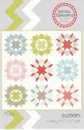 Swoon Quilt Pattern, Pattern, Thimble Blossom - Weave & Woven