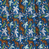 Tigers on Blue | Organic Cotton - Weave & Woven
