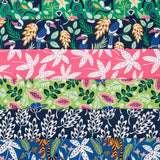 Bunches of Flowers in Bright | Organic Cotton - Weave & Woven