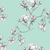 Magnolia Study in Fresh, Quilting Cotton, Art Gallery Fabrics - Weave & Woven