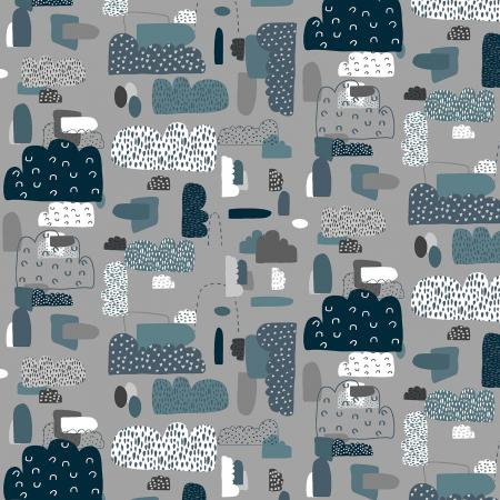 Night Sky, Quilting Cotton, Cotton & Steel - Weave & Woven