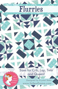 Flurries Quilt Pattern, Pattern, Its So Emma - Weave & Woven