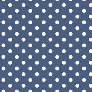 Notting Hill Dots Blue - Weave & Woven