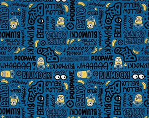 Million of Minions in Blue