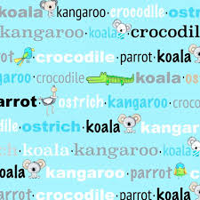 Koala Party in Aqua, Studio E Fabrics, Weave and Woven