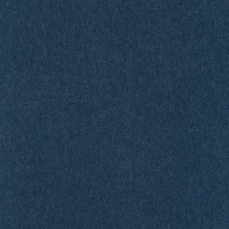 Navy Heather Luguna Jersey Knit for Robert Kaufman Fabric | Weave and Woven
