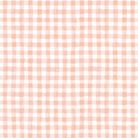 Painted Gingham in Blush, Meadow Collection for Rifle Paper Co. | Weave and Woven