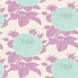 Grandma's Roses in Lilac, Sunkiss Collection for Tilda Fabrics, Weave and Woven