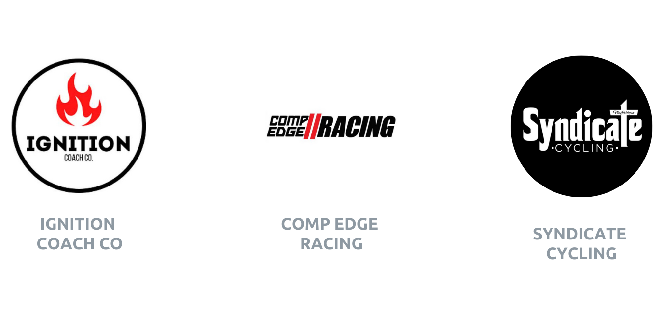Ignition Coaching CompEdge Racing Syndicate Cycling Logos