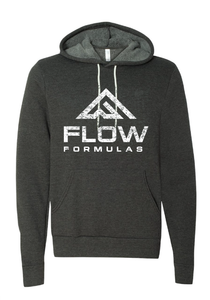 Flow Formulas Heather Grey Hoodie