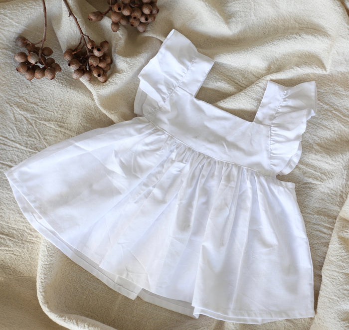 LUNA DRESS WHITE
