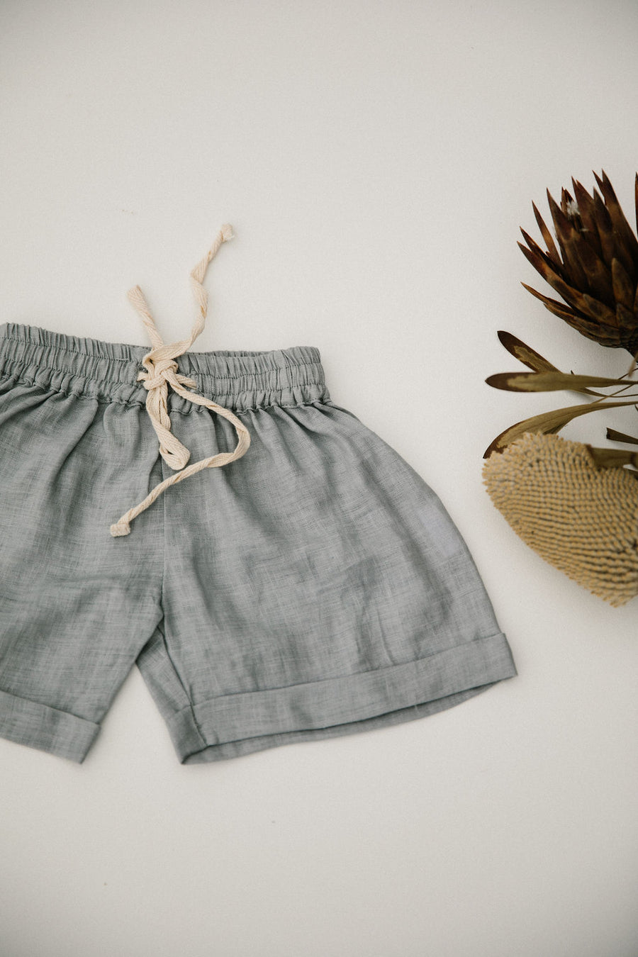 OSCAR SHORT - BLUE GREY