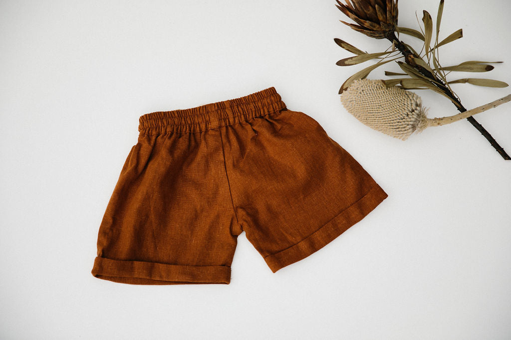 OSCAR SHORT - TERRACOTTA